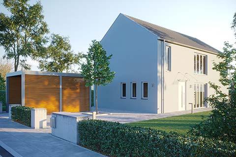 Architektenhaus - Febro Massivhaus