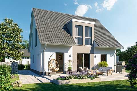 Doppelhaus - Febro Massivhaus